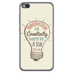Funda Gel Tpu para Xiaomi Redmi Go diseño Creativity Dibujos