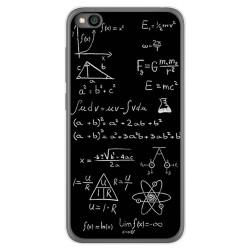 Funda Gel Tpu para Xiaomi Redmi Go diseño Formulas Dibujos
