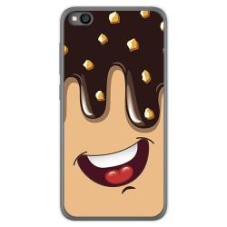 Funda Gel Tpu para Xiaomi Redmi Go diseño Helado Chocolate Dibujos