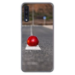 Funda Gel Tpu para Samsung Galaxy A50 diseño Apple Dibujos