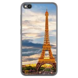 Funda Gel Tpu para Xiaomi Redmi Go diseño Paris Dibujos