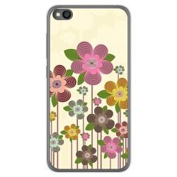 Funda Gel Tpu para Xiaomi Redmi Go diseño Primavera En Flor Dibujos