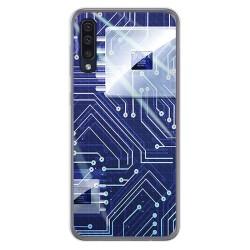Funda Gel Tpu para Samsung Galaxy A50 / A50s / A30s diseño Circuito Dibujos