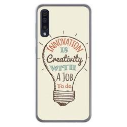 Funda Gel Tpu para Samsung Galaxy A50 / A50s / A30s diseño Creativity Dibujos