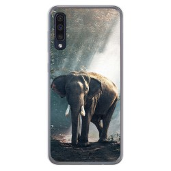 Funda Gel Tpu para Samsung Galaxy A50 / A50s / A30s diseño Elefante Dibujos
