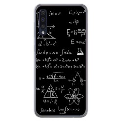 Funda Gel Tpu para Samsung Galaxy A50 / A50s / A30s diseño Formulas Dibujos