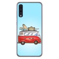 Funda Gel Tpu para Samsung Galaxy A50 / A50s / A30s diseño Furgoneta Dibujos