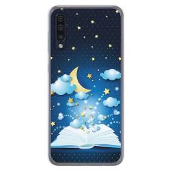 Funda Gel Tpu para Samsung Galaxy A50 / A50s / A30s diseño Libro Cuentos Dibujos