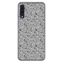 Funda Gel Tpu para Samsung Galaxy A50 / A50s / A30s diseño Letras Dibujos