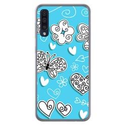 Funda Gel Tpu para Samsung Galaxy A50 / A50s / A30s diseño Mariposas Dibujos