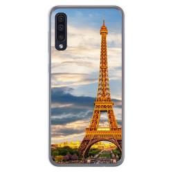 Funda Gel Tpu para Samsung Galaxy A50 / A50s / A30s diseño Paris Dibujos