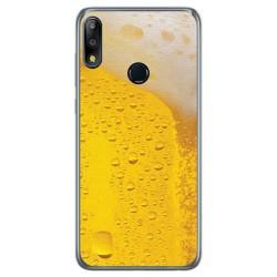 Funda Gel Tpu para Asus Zenfone Max (M2) diseño Cerveza Dibujos