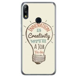 Funda Gel Tpu para Asus Zenfone Max (M2) diseño Creativity Dibujos