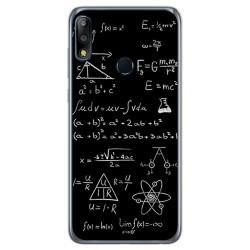 Funda Gel Tpu para Asus Zenfone Max (M2) diseño Formulas Dibujos