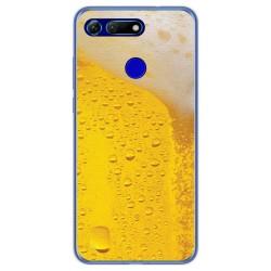 Funda Gel Tpu para Huawei Honor View 20 diseño Cerveza Dibujos