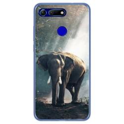 Funda Gel Tpu para Huawei Honor View 20 diseño Elefante Dibujos
