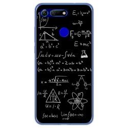 Funda Gel Tpu para Huawei Honor View 20 diseño Formulas Dibujos