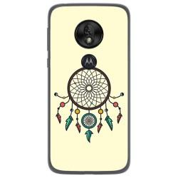 Funda Gel Tpu para Motorola Moto G7 Play diseño Atrapasueños Dibujos