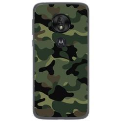 Funda Gel Tpu para Motorola Moto G7 Play diseño Camuflaje Dibujos