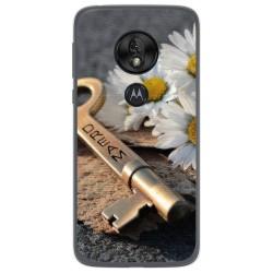 Funda Gel Tpu para Motorola Moto G7 Play diseño Dream Dibujos
