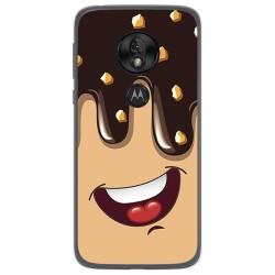 Funda Gel Tpu para Motorola Moto G7 Play diseño Helado Chocolate Dibujos