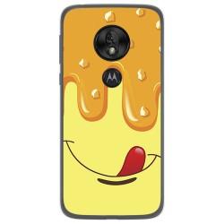 Funda Gel Tpu para Motorola Moto G7 Play diseño Helado Vainilla Dibujos