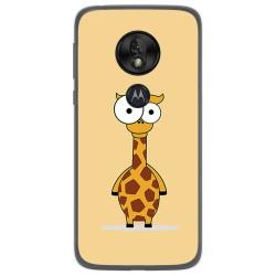 Funda Gel Tpu para Motorola Moto G7 Play diseño Jirafa Dibujos