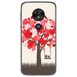 Funda Gel Tpu para Motorola Moto G7 Play diseño Pajaritos Dibujos