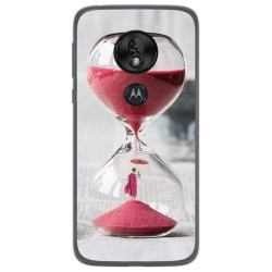 Funda Gel Tpu para Motorola Moto G7 Play diseño Reloj Dibujos