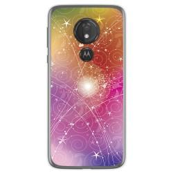 Funda Gel Tpu para Motorola Moto G7 Power diseño Abstracto Dibujos