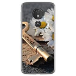 Funda Gel Tpu para Motorola Moto G7 Power diseño Dream Dibujos