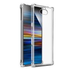 Funda Gel Tpu Anti-Shock Transparente para Sony Xperia 10 Plus