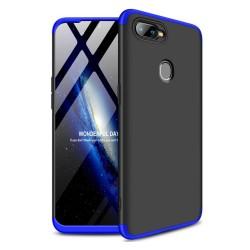 Funda Carcasa GKK 360 para Oppo AX7 Color Negra / Azul