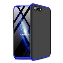 Funda Carcasa GKK 360 para Oppo RX17 Neo Color Negra / Azul