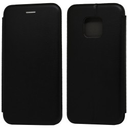 Funda Libro Soporte Magnética Elegance Negra para Huawei Mate 20 Pro
