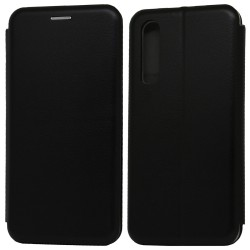 Funda Libro Soporte Magnética Elegance Negra para Huawei P30