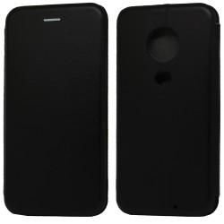 Funda Libro Soporte Magnética Elegance Negra para Motorola Moto G7 / G7 Plus