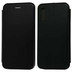 Funda Libro Soporte Magnética Elegance Negra para Samsung Galaxy A7 (2018)