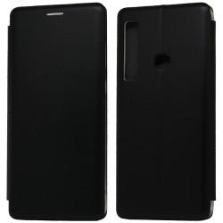Funda Libro Soporte Magnética Elegance Negra para Samsung Galaxy A9 (2018)