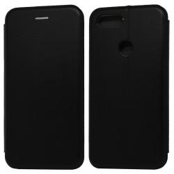 Funda Libro Soporte Magnética Elegance Negra para Xiaomi Mi 8 Lite