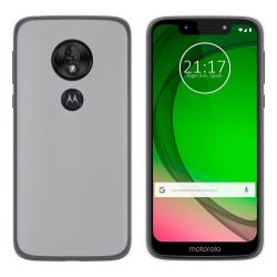Funda Gel Tpu para Motorola Moto G7 Play Color Transparente
