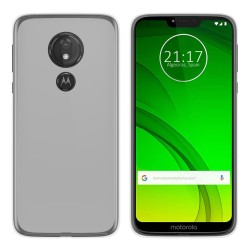 Funda Gel Tpu para Motorola Moto G7 Power Color Transparente