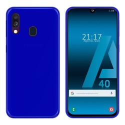 Funda Gel Tpu para Samsung Galaxy A40 Color Azul