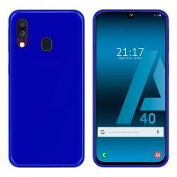 Funda Gel Tpu para Samsung Galaxy A40 Color Azul