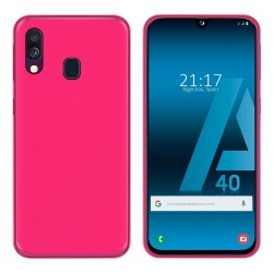 Funda Gel Tpu para Samsung Galaxy A40 Color Rosa