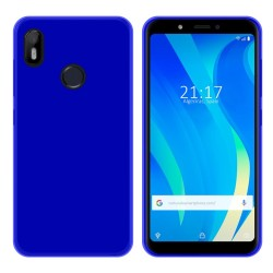 Funda Gel Tpu para Vsmart Joy 1 Color Azul