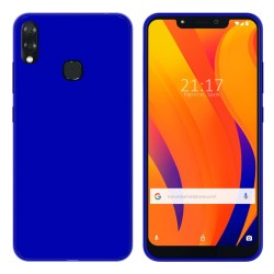 Funda Gel Tpu para Vsmart Joy 1+ Plus Color Azul