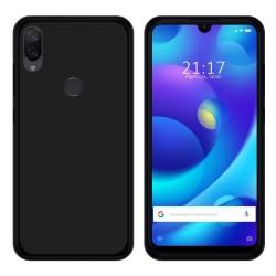 Funda Gel Tpu para Xiaomi Mi Play Color Negra