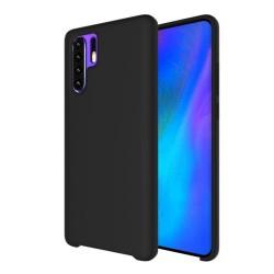 Funda Silicona Líquida Ultra Suave para Huawei P30 Pro color Negra
