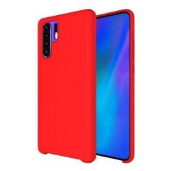 Funda Silicona Líquida Ultra Suave para Huawei P30 Pro color Roja